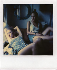 (Raymond Molinar) Tags: camera new york 2002 summer film polaroid sx70 time wave heat annie land expired weiss zero thornton keren