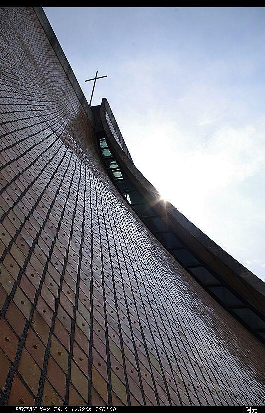 等待夕陽的午後 東海大學