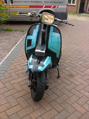 my gp (mark & anne's photos) Tags: amazing engineering scooter lambretta custom lc liquid gp cooled lammy bretta