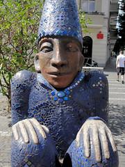 Sternenwchter (Gertrud K.) Tags: berlin geotagged friedrichshain sculptures christinegersch geo:lat=52507158 geo:lon=1346808