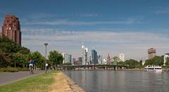 Deutschherrnufer (Roland S.) Tags: skyline frankfurt main deutschherrnufer