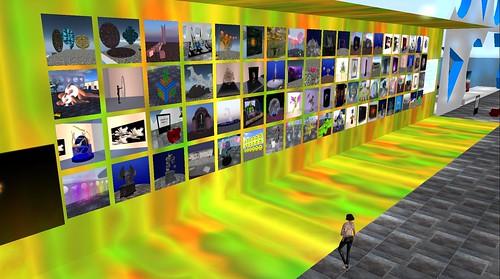 UWA Voting Wall of Artists