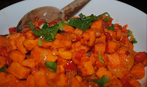 Sweet Potato Hash @ At Grace's Table