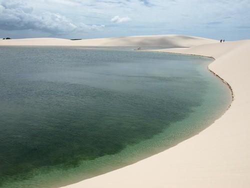 Lagoa da Gaivota, Lençóis Maranhenses