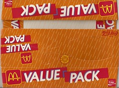 1986 McDonald's Value Pack box (daniel85r) Tags: mcdonalds
