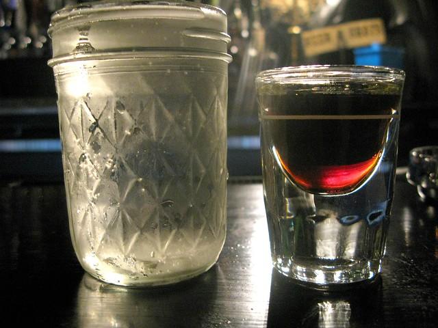 Villains Tavern's Mix & Match Beer and Shot by Caroline on Crack