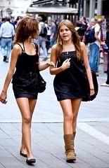 dybe hits street girls København