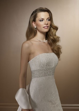elegant wedding dress accessories, strapless bridal gowns