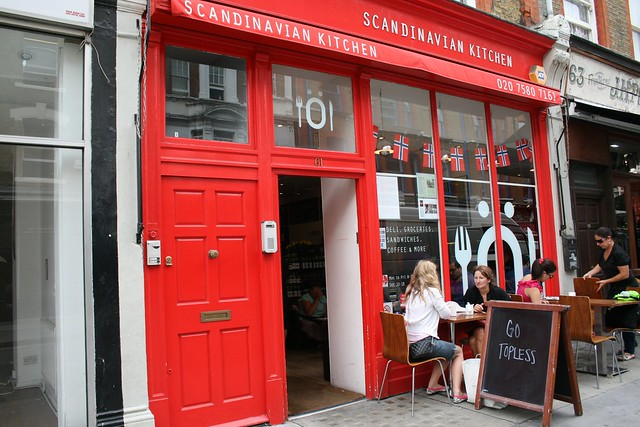 Go Topless at Scandinavian Kitchen