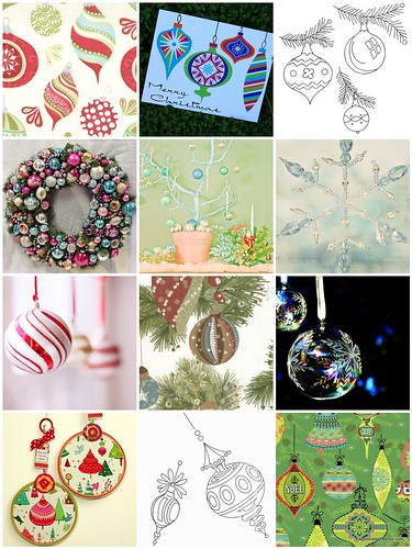 Hoop Up! Vintage ornament inspiration