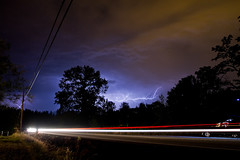 Plan B (Clickme Studio) Tags: car night washington lightening streaks issaquah