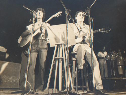 Djavan e Chico 1980