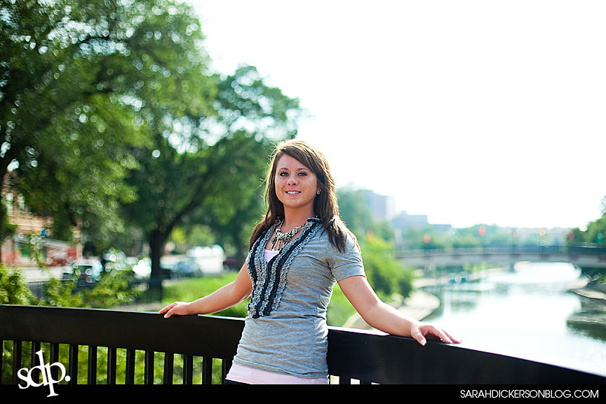 Kansas City senior photos, Country Club Plaza