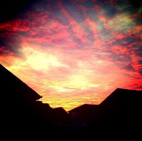 Red Sky @ Night
