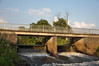 Wümmewehr in Unterstedt (saltacornu) Tags: bridge germany deutschland nikon brücke stau weir wehr wümme staustufe rotenburg norddeutschland northgermany stauwehr unterstedt saltacornu d5000 stauung