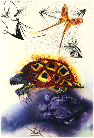 09 The Mock Turtle's Story by Dalí