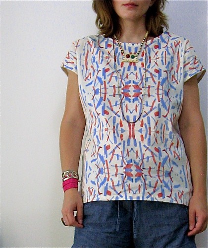 Magic Marker Blouse (Front)