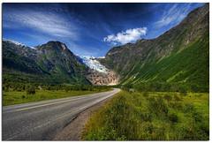 glacier (Mariusz Petelicki) Tags: norway norge glacier hdr lodowiec 3xp norwegia mariuszpetelicki