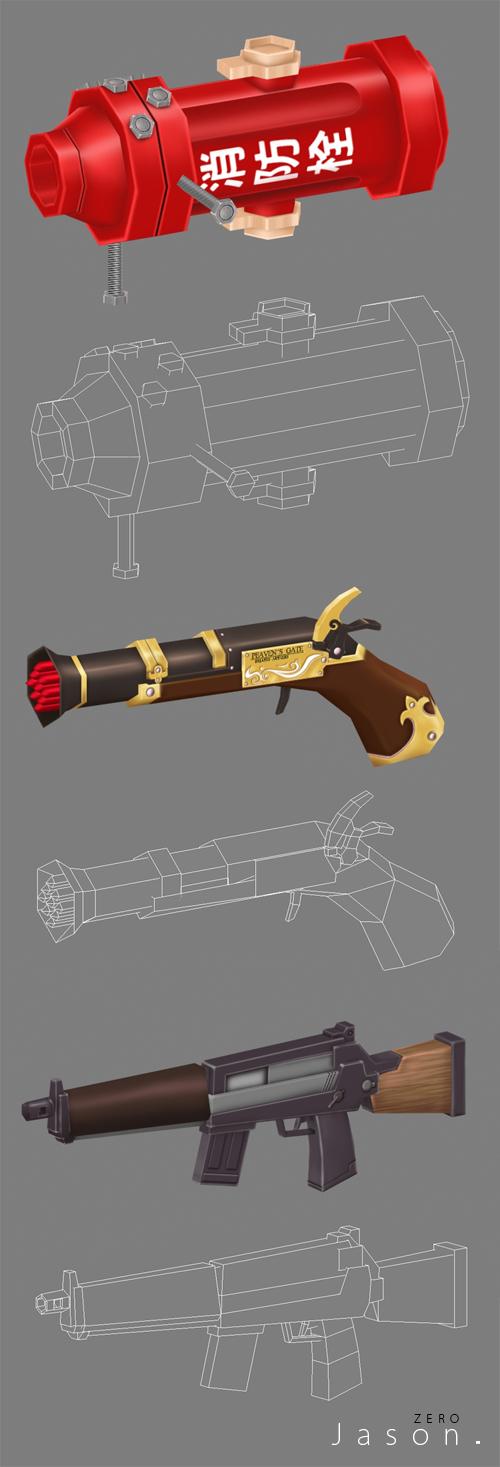 雷爵_彩虹氣泡_weapon