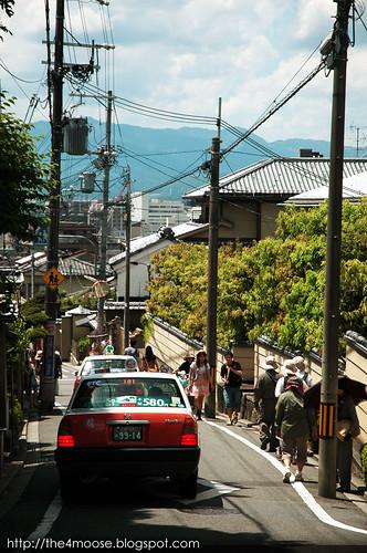 Higashiyama 東山区 - Matsubara Dori 松原通