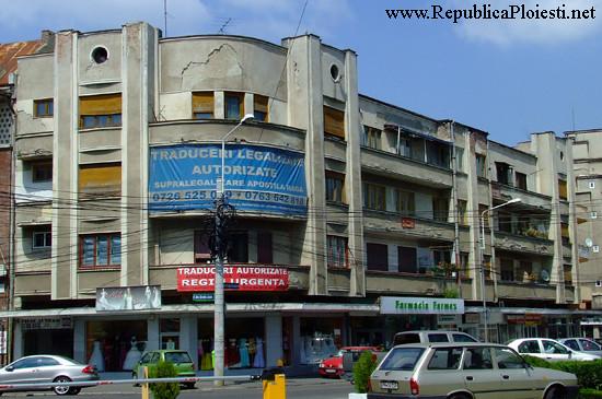Art Deco in Ploiesti - Bloc pe strada erou Calin Catalin