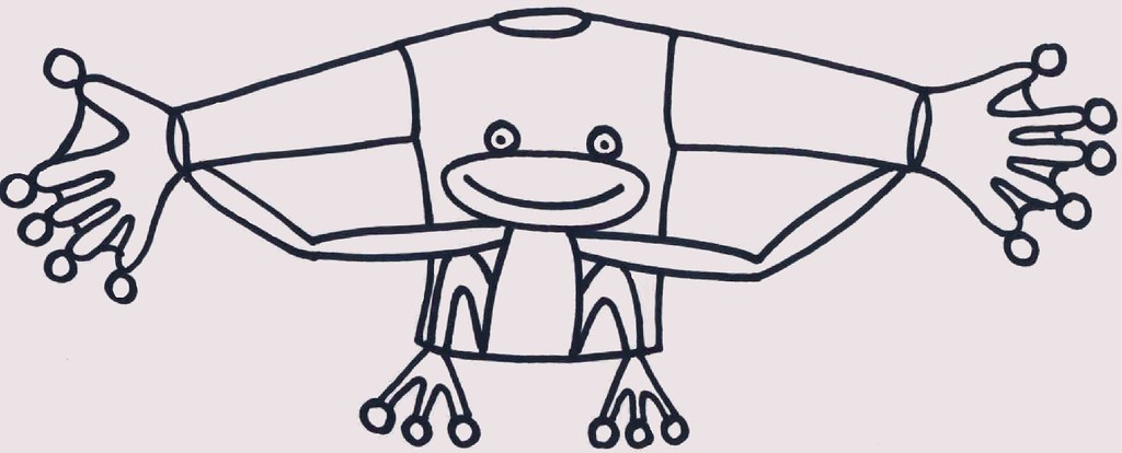 Kikkerpak (door Riet!)