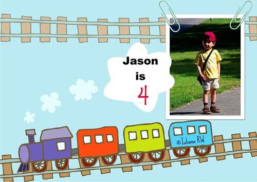 Jason is 4