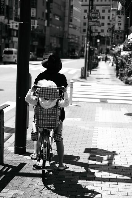 騎腳踏車隨拍