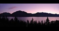 Canada (Surrealplaces) Tags: sunset mountain lake silhouette kootenay
