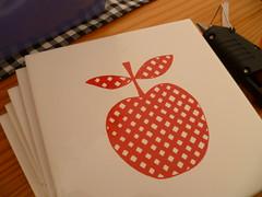 Azulejo de maçãs