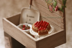 Dollhouse Miniature 1/12 Scale Strawberry Time