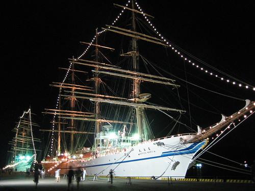日本丸 海王丸 写真 画像2