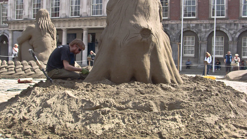 Sand Castles At Dublin Castle