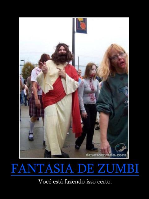 Fantasia de Zumbi - Jesus