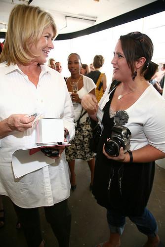 me and Martha Stewart :)