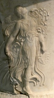 Column base with Maenads 1