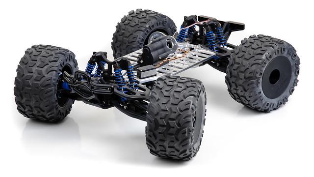 E-Maxx R/C truck chassis