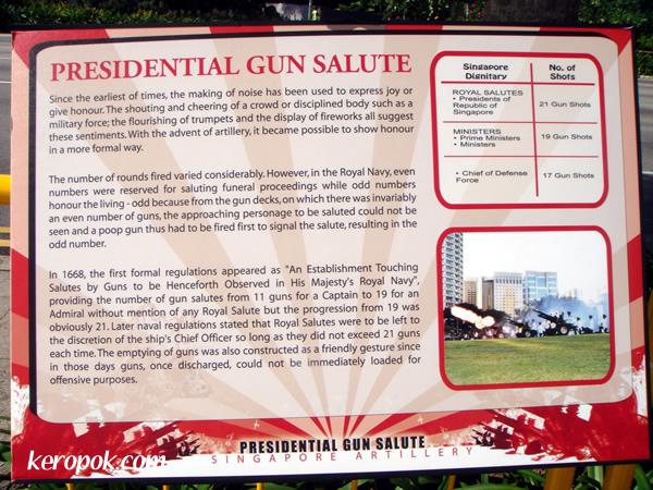 Presidential Gun Salute