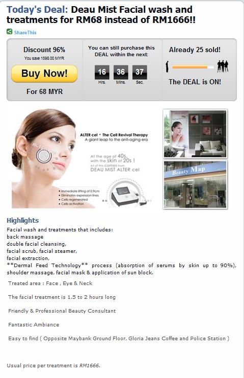 facial wash deal