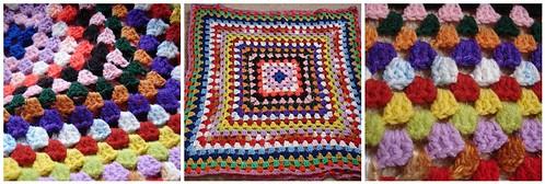 1970's crochet mix