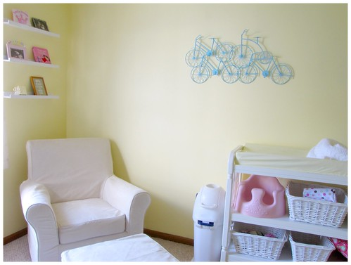 Nursery for our baby girl