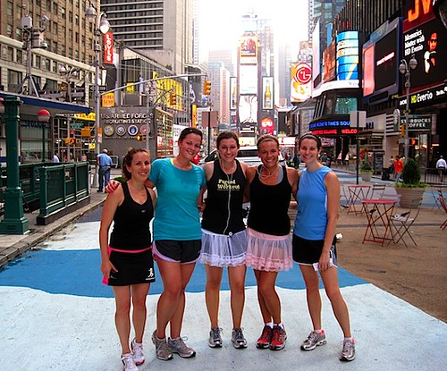 BlogHer 5K Times Square