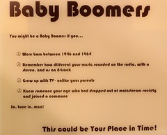 Baby Boomers - This could be Your Place in Time!