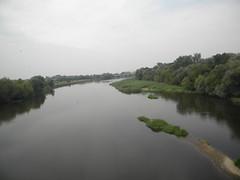 Polish-Belorussian border river (Western Bug) (Timon91) Tags: train border poland polska railway brest belarus grens grenze terespol polishbelorussianborder
