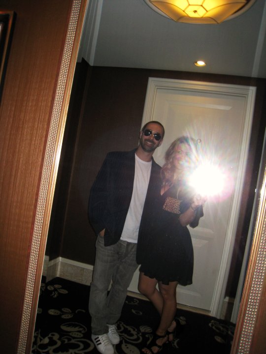 husband and I off to dinner at Botero