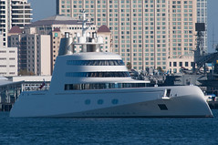 Super yacht A (SBGrad) Tags: aperture nikon sandiego yacht nikkor 2010 alr d90 blohmvoss superyacht tc17eii 80200mmf28dafs noticings motoryachta blohmvossgmbh