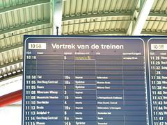 Utrecht Centraal train station (Timon91) Tags: netherlands station train delay utrecht railway utrechtcs trainamsterdammoscow