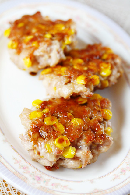 Pork & Corn Patties