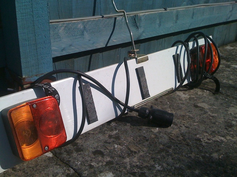 towball mounted bike carrier lighting board singletrack forum