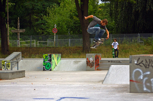 Carsten Hardflip Skatepark 1